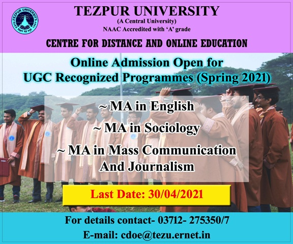 Tezu-Admission