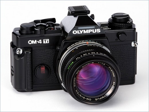 Olympus OM-4 Ti / OM-4 T in the USA (1986)