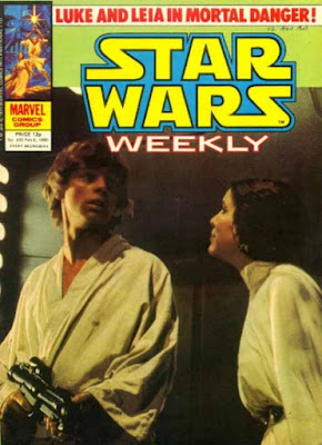 Star Wars Weekly #102, Han and Leia