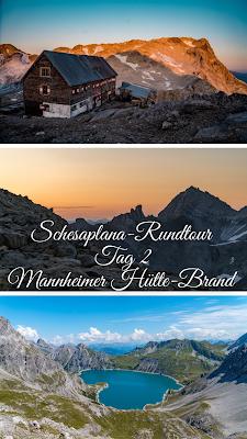 Schesaplana Rundtour Tag 2 | Mannheimer Hütte – Schesaplana – Lünersee - Brand | Hüttentour Rätikon 20
