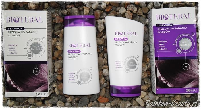 biotebal szampon i odżywka przeciw wypadaniu włosów opinie
