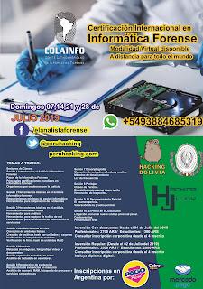 Certificación Internacional Informática Forense