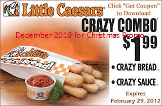 Little Caesars coupons december