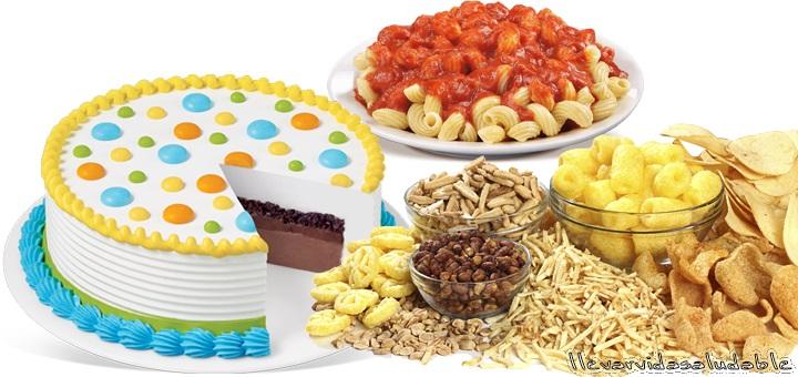 10 Alimentos que no deja bajar de peso
