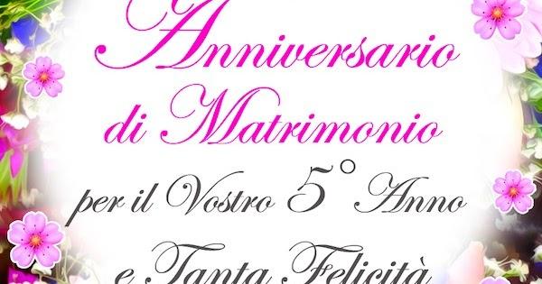 Quinto Anniversario Di Matrimonio.Cdb Cartoline Per Tutti I Gusti Cartolina Buon