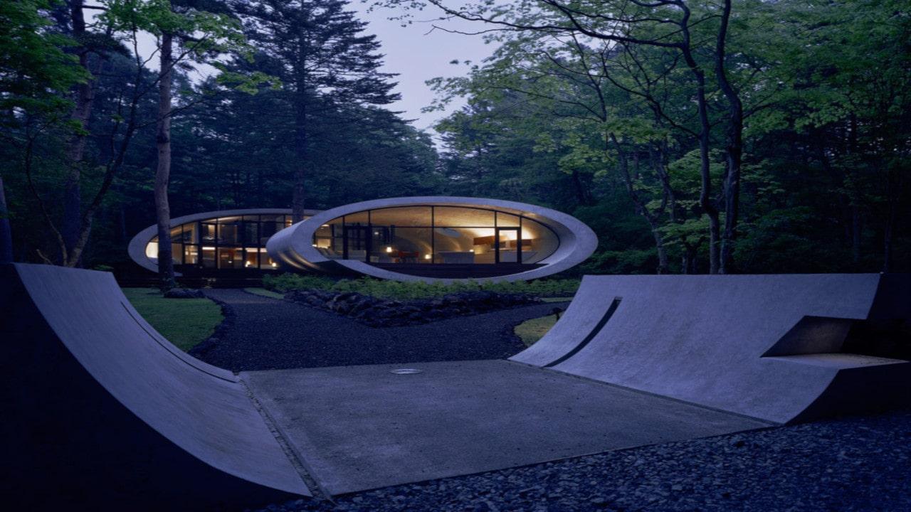 ejemplos de arquitectura organica