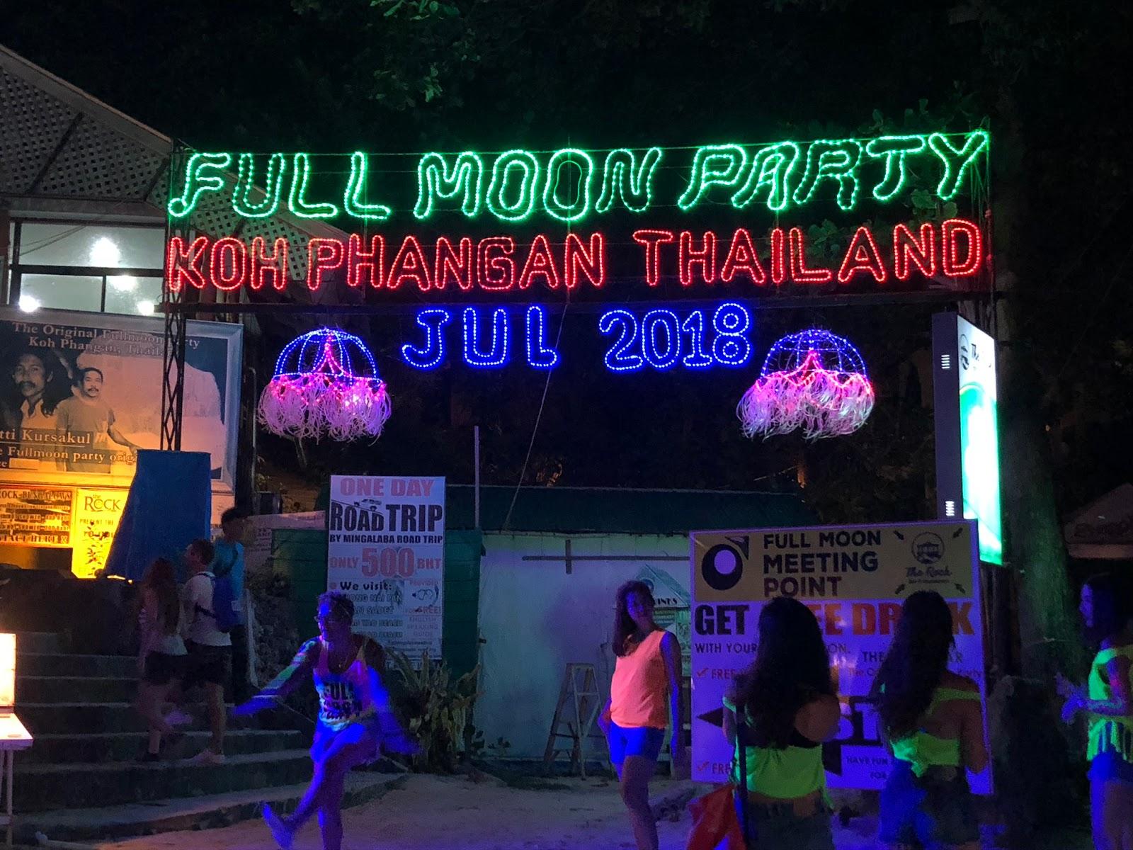 Koh Phangan Yo Sobrevivi A La Full Moon Party Un Mapa En La Maleta