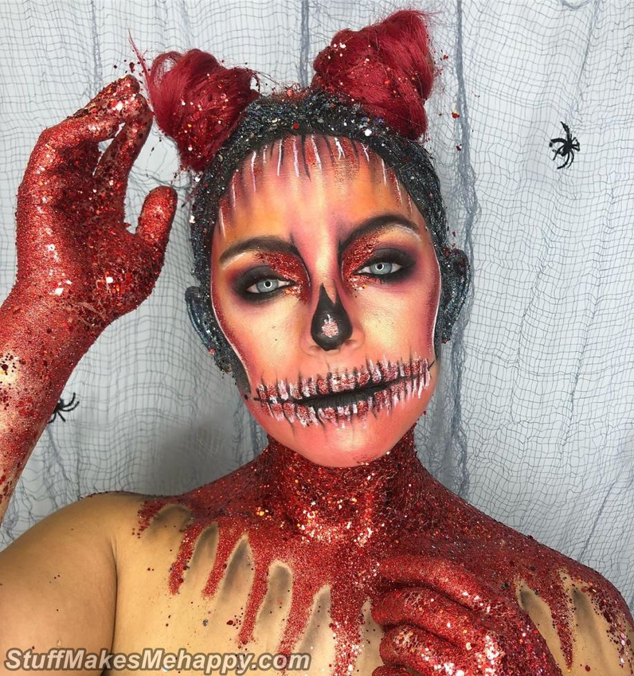 Halloween Makeup Ideas and Halloween Body Art to Celebrate Halloween 2019