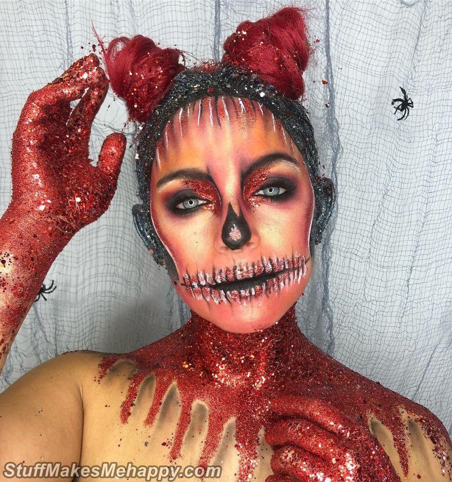Halloween Makeup Ideas and Halloween Body Art to Celebrate Halloween 2019