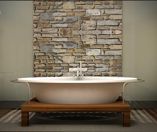 Memotong Batu Alam Untuk Dinding dengan Cara Termudah