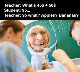 Maths Teacher Meme