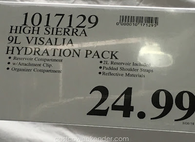 Deal for the High Sierra Visalia 9 Hydration Pack at Costco