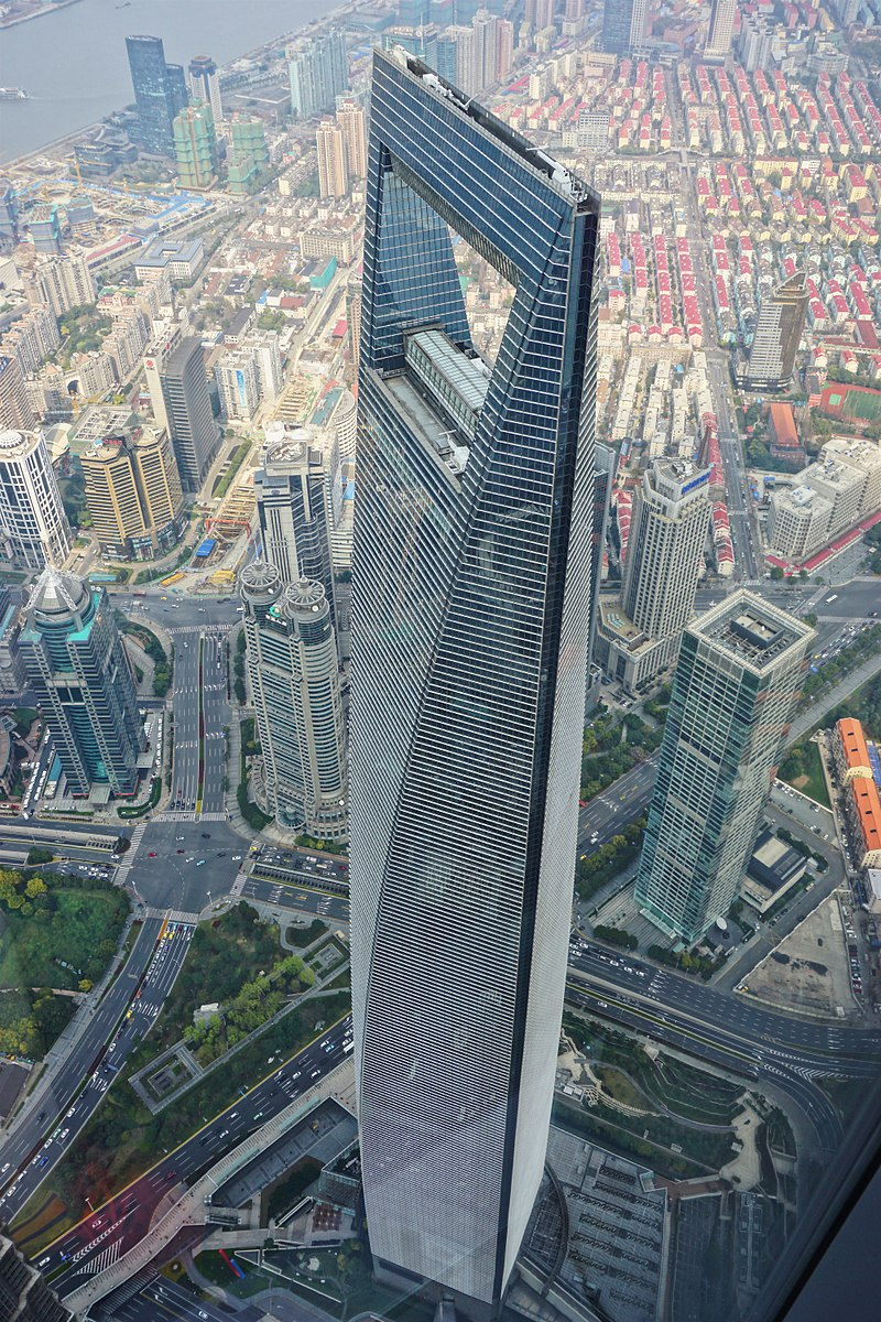 Shanghai World Financial Center in China