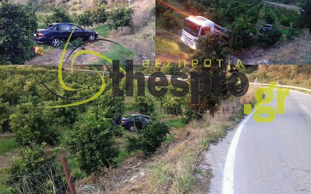 Θεσπρωτία: Αυτοκίνητο βρέθηκε στις ... μανταρινιές (+ΦΩΤΟ)