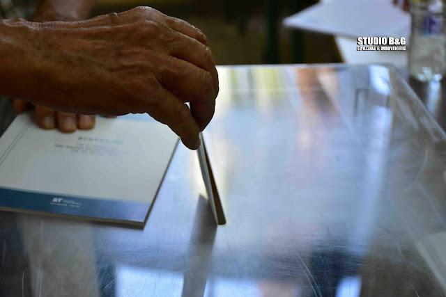 Συγκεντρωτικά επίσημα αποτελέσματα των Εθνικών εκλογών στην Αργολίδα