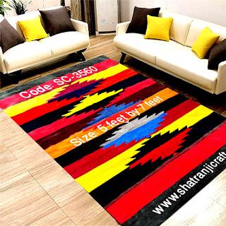 Shatranji (শতরঞ্জি) Floor Mat SC-3560
