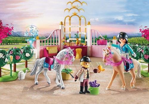 Playmobil Princess paarden manege