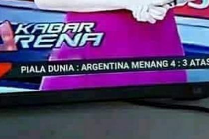 Merasa Dicemarkan Citranya, TvOne Laporkan Akun Penyebar Hoax Argentina Menang