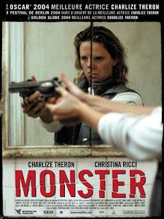 """L'affiche du film """"Monster"""" inspiré de la vie d'Aileen Wuornos"""