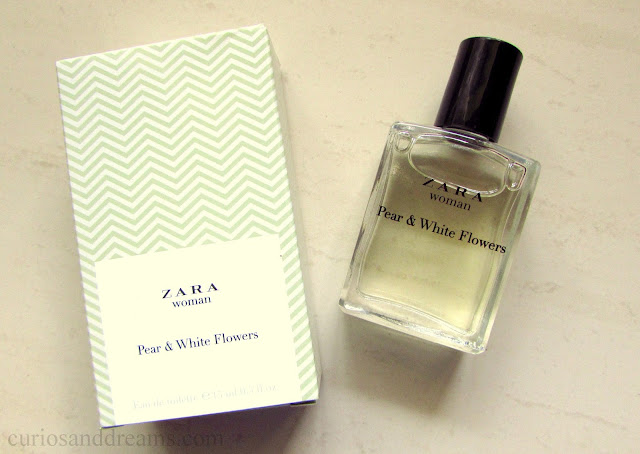 Zara Pear and White Flowers EDT, Zara Pear and White Flowers EDT review