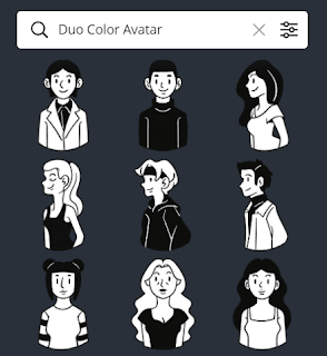 Duo Color Avatar