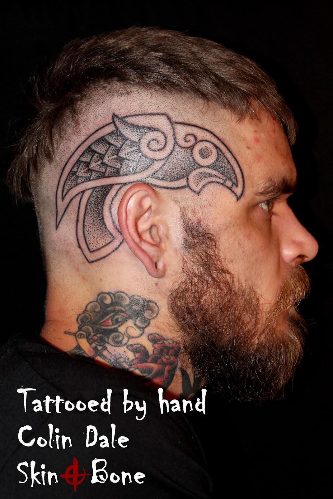 Raven Viking Tattoo: SKiN&BoNE: Copycats: Part 2, Art Imitates Life