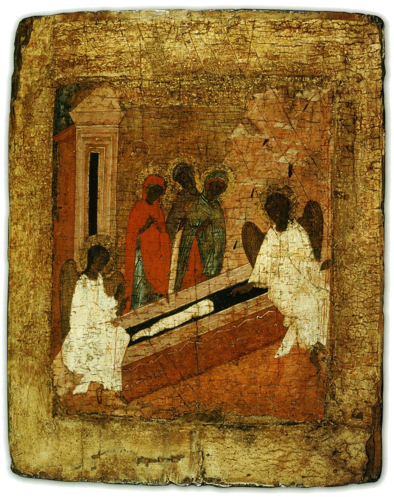 Картинки жены мироносицы у гроба господня