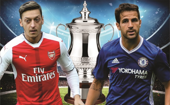 Arsenal and Chelsea will square off at Wembley on Saturday in the FA Cup final