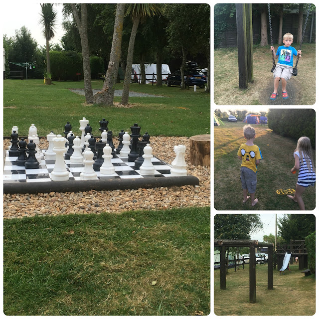 Activities at Adgestone campsite IOW