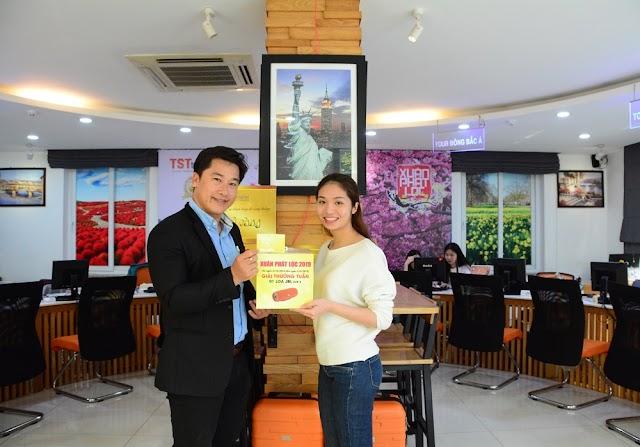 Chúc mừng khách hàng Lê Sơn đã trúng giải thưởng tuần 5