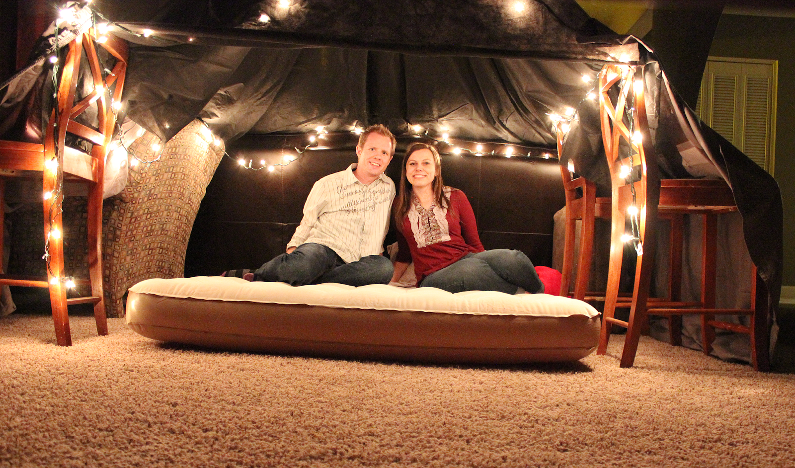 Friday We're In Love: Romantic Fort Date Night Surprise Romantic Night At Home