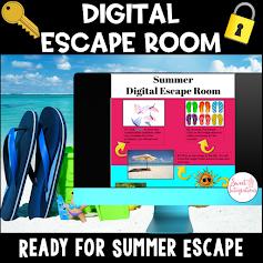 Cover for digital escape room