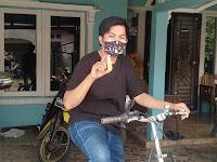 Sebelum Bersepeda Keliling Kota Pakai QUIXX Nasal Protection