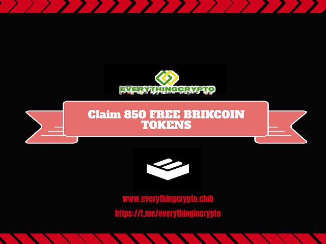 Claim Free Brikcoin Tokens