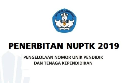 Prosedur Pengajuan NUPTK 2019