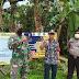 Upayakan Desa Mandiri Sehat, Koramil Sungai Raya Canangkan Satgas Desa Tangkal Covid-19