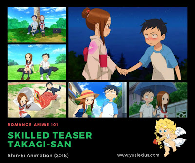 Romance Anime: Skilled Teaser Takagi-san
