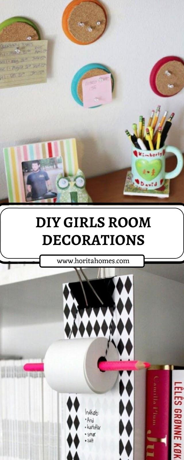 DIY GIRLS ROOM DECORATIONS