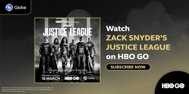 justice League Globe HBO Go Gizmo Manila