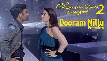Raghuvaran Vs Vasundhara – Dooram Nillu (Video Song) | Velai Illa Pattadhaari 2 | Dhanush, Kajol