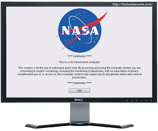 Hacker leaks source code of NASA website belongs to US Government computer