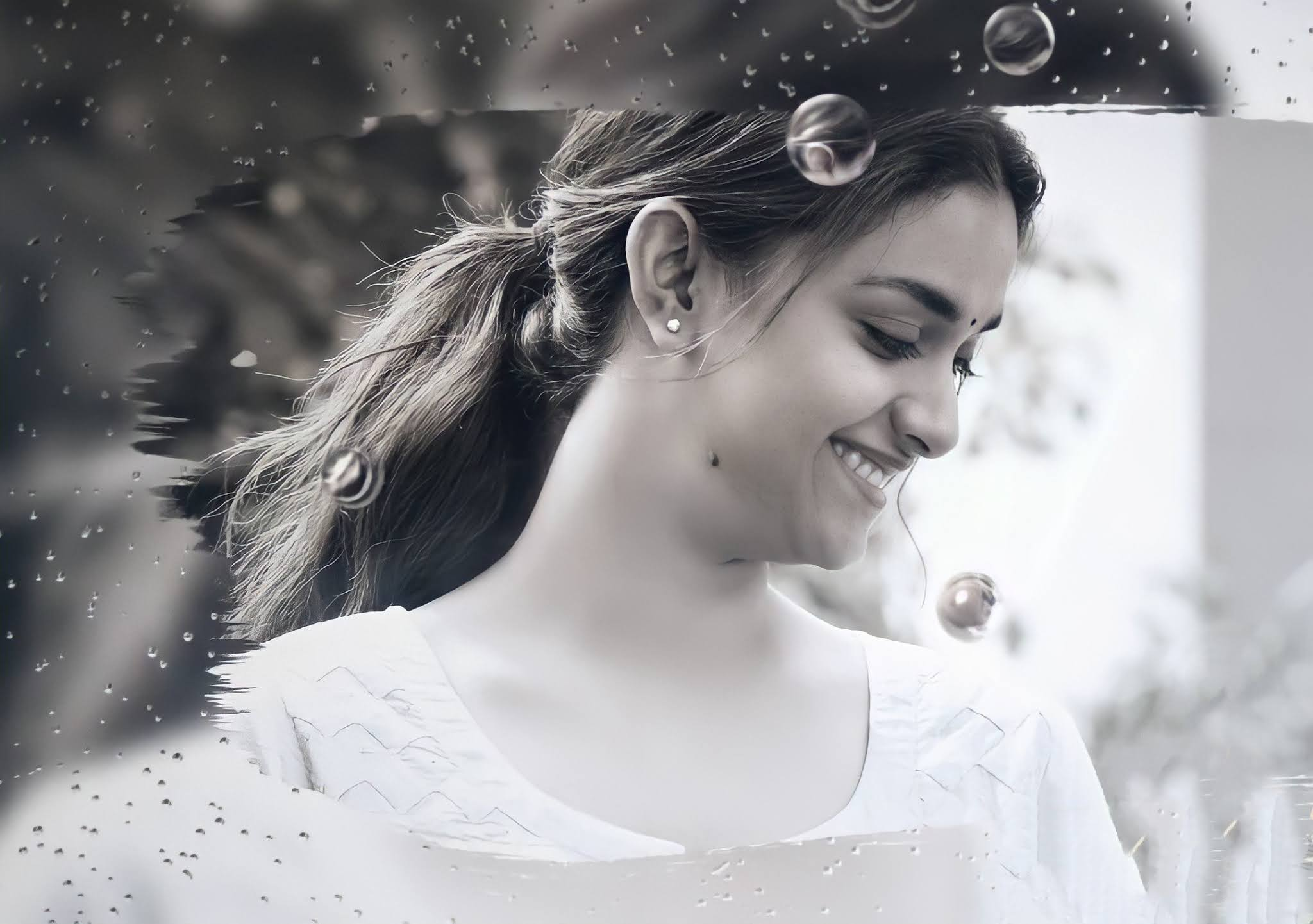 Keerthy Suresh Awesome Lovely Smile from RangDe 1