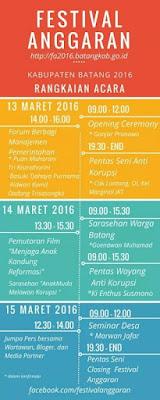 EVENT: Batang | 13 -15 Maret 2016 | Festival Anggaran Kabupaten Batang 2016