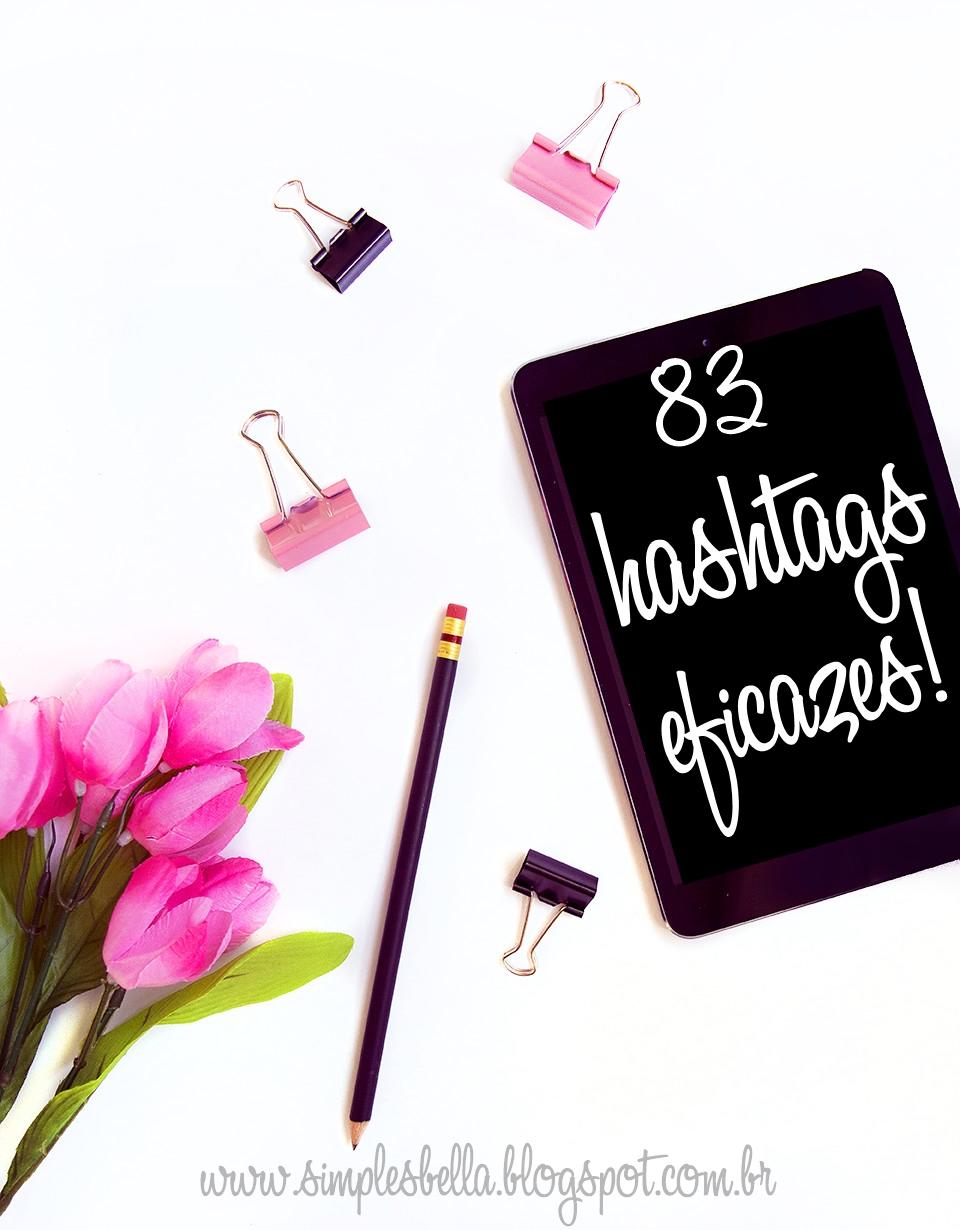 Hashtags para blogueiras de beleza