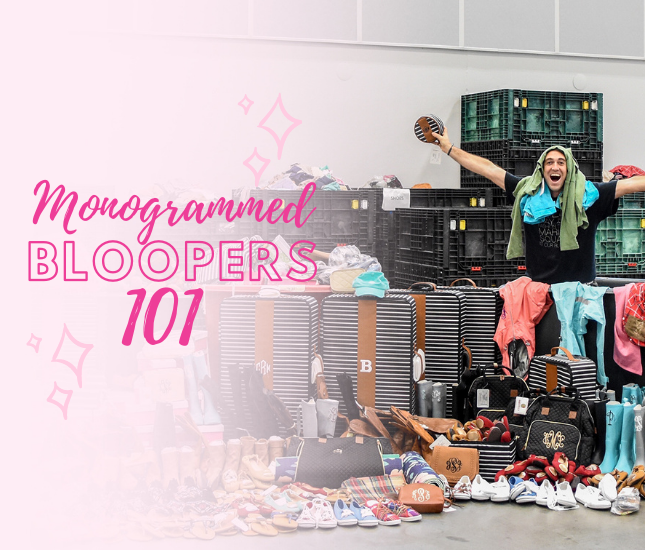 Discounted Monogrammed Clothes