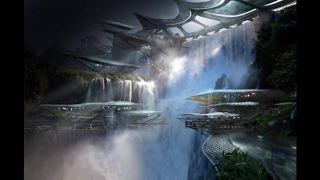 Ambientación del videojuego de exploración espacial Mass Effect Andromeda