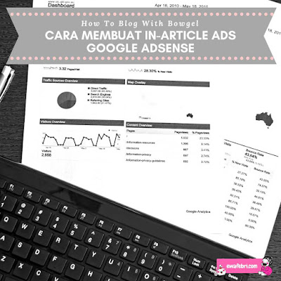 cara membuat in article ads adsense