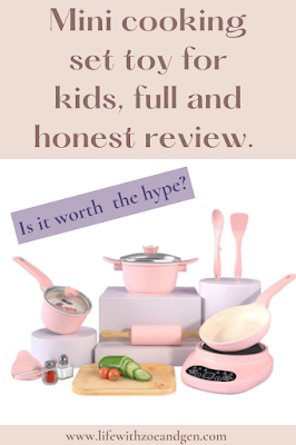 Mini cooking set toy for kids, full and honest review. l Is it worth the hype? l  Life with ZG l Motherhood