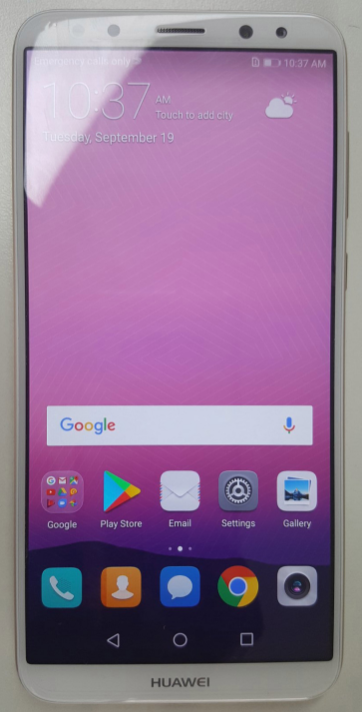 Huawei Mate 10 Lite live picture