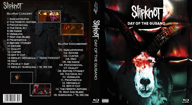 Slipknot - Day Of The Gusano Bluray Cover